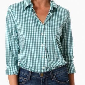 The-Shirt Rochelle Behrens Icon Top Gingham Green